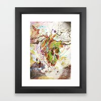 Heart Minded Framed Art Print