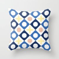 Floor tile 6 Throw Pillow