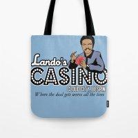 Lando's Casino Tote Bag