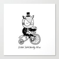 Learn Something New Canvas Print