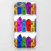 Rowhouse Romance iPhone 6 Slim Case