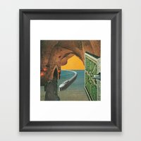 Strange Cities: The Forg… Framed Art Print