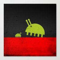 DAVID AND GOLIATH BUGS Canvas Print