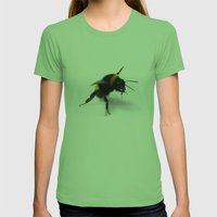Bee 4 Womens Fitted Tee Grass SMALL