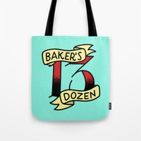 Baker's Dozen Tote Bag