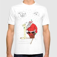 Shitty Christmas Mens Fitted Tee White SMALL