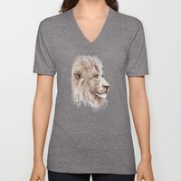 Wise Lion Unisex V-Neck