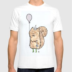 Happy Birthday! Mens Fitted Tee SMALL White