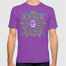 If Mama Ain't Happy Mens Fitted Tee Ultraviolet SMALL