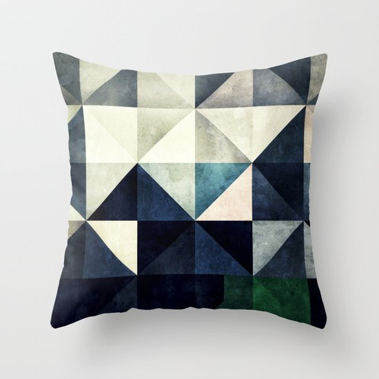 GLYZBRYKS Throw Pillow