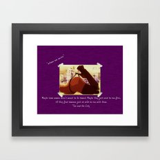 Urbane nox Noctis - Sex in the City Framed Art Print