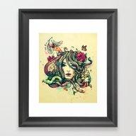 Beauty Before Death Framed Art Print