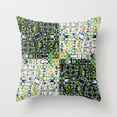 Patchwork 1 Throw Pillow