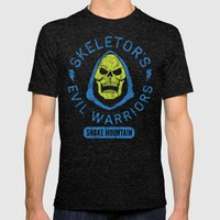 Bad Boy Club: Skeletor's Evil Warriors  Mens Fitted Tee Tri-Black SMALL