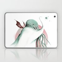 Cthulhu, conqueror of all worlds Laptop & iPad Skin