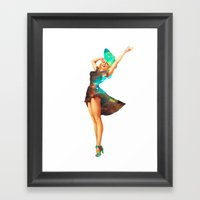 Cosmic Pinup # 2 Framed Art Print