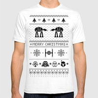 May The Christmas Spirit… Mens Fitted Tee White SMALL