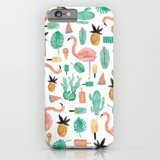 Flamingo Love iPhone 6 Slim Case