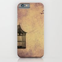 iPhone & iPod Case featuring birds and freedom concept by ihavenonameandadress