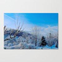 Good Morning Winter Canvas Print