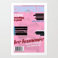 Cosmarxpolitan, Issue 12 Art Print