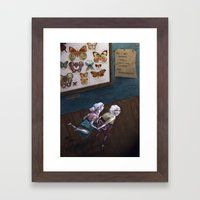 Mr & Mrs Hopper were enjoying their hip replacements. Framed Art Print