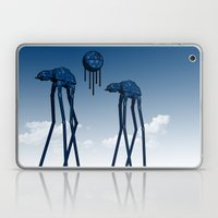 Dali's Mechanical Elephants - Blue Sky Laptop & iPad Skin