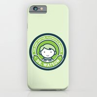 iPhone & iPod Case featuring Cute John Watson - Green by mydeardear