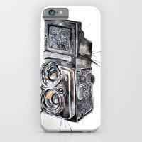 iPhone & iPod Case featuring Camera Happy  by Meg Ashford
