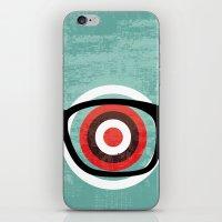 Bullseyes iPhone & iPod Skin