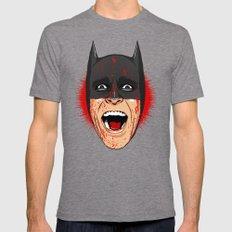 Bat Bateman Mens Fitted Tee Tri-Grey SMALL
