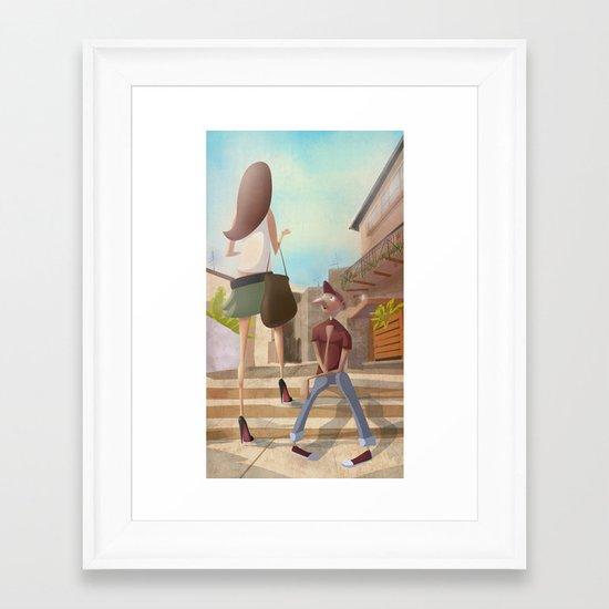 That Girl from Ipanema Framed Art Print
