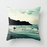 Surf Throw Pillow