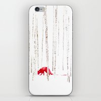 There's Nowhere To Run iPhone & iPod Skin
