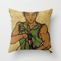 Daryl Throw Pillow