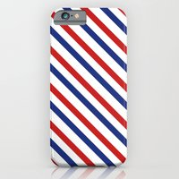 iPhone & iPod Case featuring Air Mail Stripes by ChloeFerres