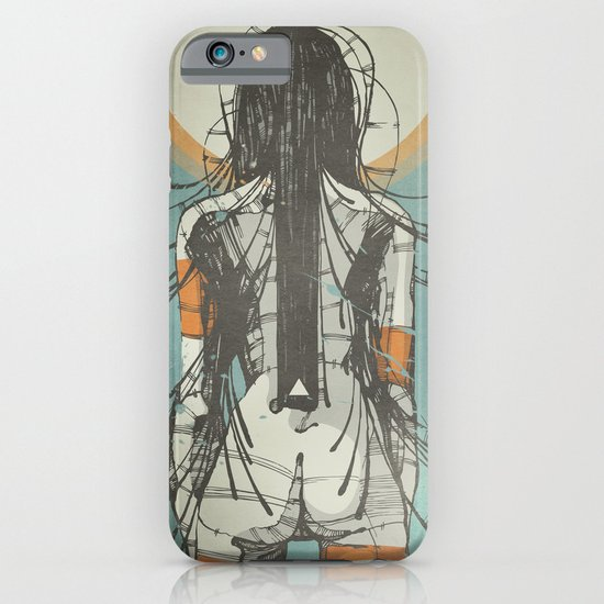 Nymph: Staring at the Sun (Ext) iPhone & iPod Case