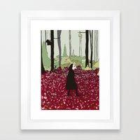 Will the world ever change? Framed Art Print