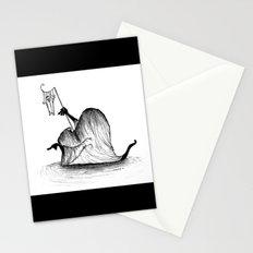 Swamp Monster Stationery Cards