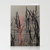 Through the Grass Stationery Cards