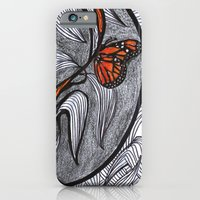 iPhone & iPod Case featuring the orange prisoner by Blanca MonQnill Sole