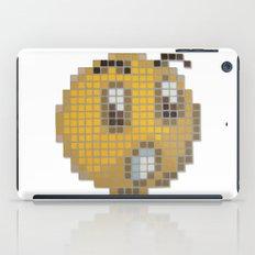 Emoticon Ohh iPad Case