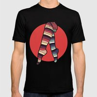 Ni Hachi Mens Fitted Tee Black SMALL