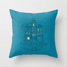 Is It Halloween Yet? Throw Pillow