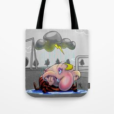 Why so glum, chum? Tote Bag