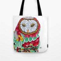 Owl Aura. Candy Colored … Tote Bag