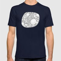 Sticking Together Mens Fitted Tee Navy SMALL