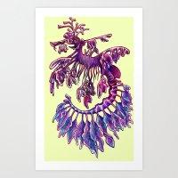 Leafy Sea Dragon 1 Art Print