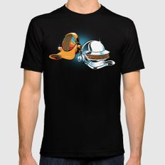 Daft Duck Mens Fitted Tee Black SMALL