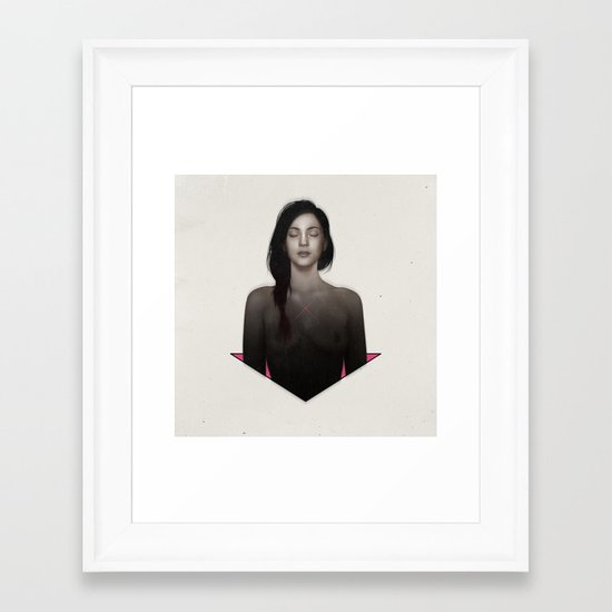 Bury me in surprise.  Framed Art Print